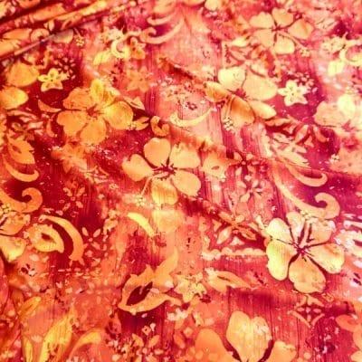 10H-100 Orange Hybiscus