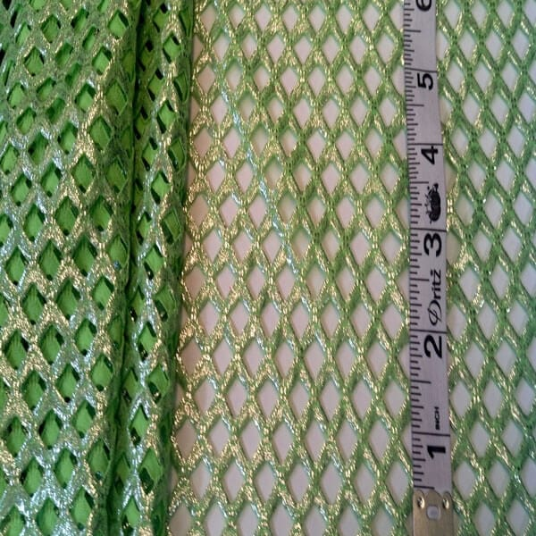 3J-101-Lime-Metalic-Fishnet